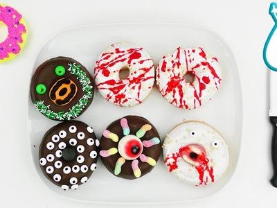 DIY HALLOWEEN Donuts mit EVA testen | halloween dekoration und essen | IN ALLER MUNDE