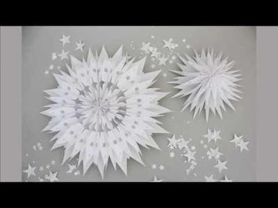 Sterne aus Tüten zum Selbermachen | DIY
