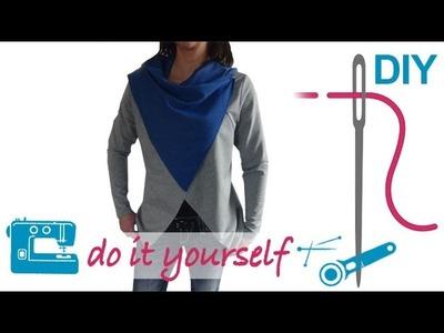 "DIY Jacke nähen  – Indoor und Outdoorjacke – Zierstoff Schnittmuster ""Joanna"""