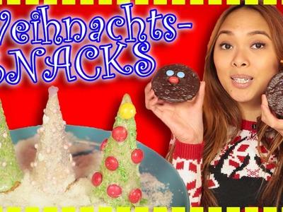 5 leckere Christmas Snacks | Food Hacks | Chaos Chrissy