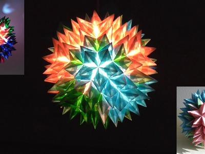 Bauanleitung für einen Goliath-Stern (Origami 3d star instruction)