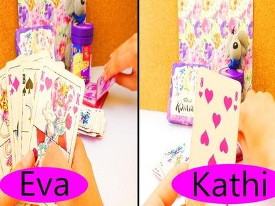 Diddl Maus Mau-Mau Spiel | Eva & Kathi spielen Karten mit der Diddl Maus | Retro - 90er Jahre Kinder