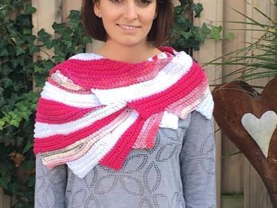 Häkeln DrachensSTRAHL mit 3 Farben Woolly Hugs BANDY Veronika Hug