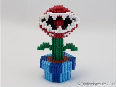 Perler Bead 3D Piranha Plant