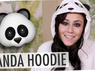 #flipdiy | Panda Hoodie und Pantoffeln mit Hatice