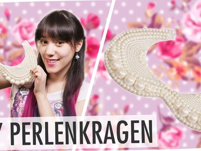 Statement Kette DIY I PERLENKRAGEN I mit breedingunicorns I #flipdiy