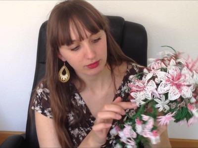 Brautstrauss aus Glasperlen. Anna's Perlen