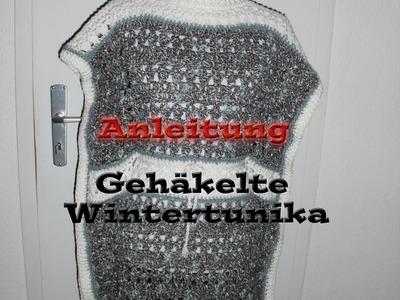 Anleitung Winter Wonderland Häkeltunika