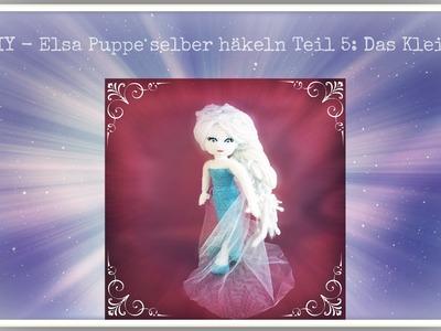 DIY - Elsa Puppe häkeln Teil 5: Das Kleid