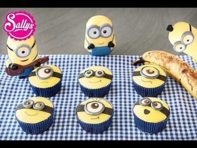Minion Muffins. Minion Cupcakes. Bananenmuffins. die Minions zu Besuch in meiner Küche
