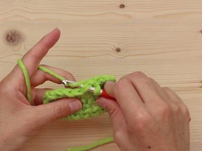 Häkeln lernen mit myboshi - Die Kettmasche