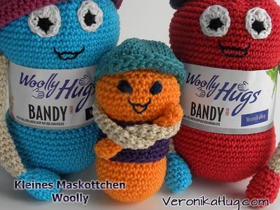 Häkeln - Maskottchen Woolly - klein - Veronika Hug