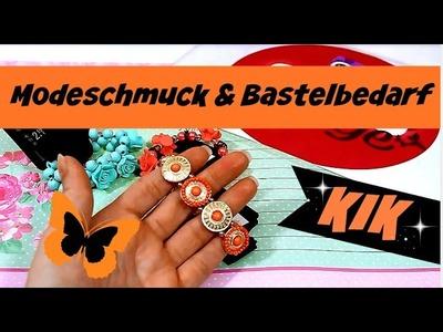 KIK Einkauf mit Bastelbedarf & Schmuck | 9999 Dinge - DIY, Basteln & Trends