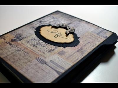 Scrapbooking,Folio,Vintage Mini Album[basteln mit Papier,Deutsch]