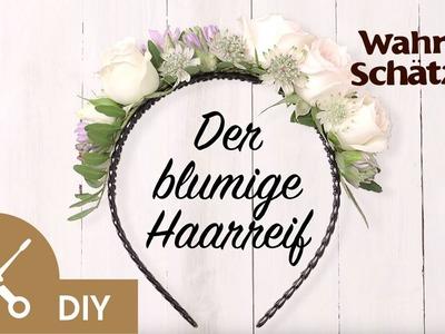 Blumenkranz selber machen Tutorial - Der Haarreif | Garnier