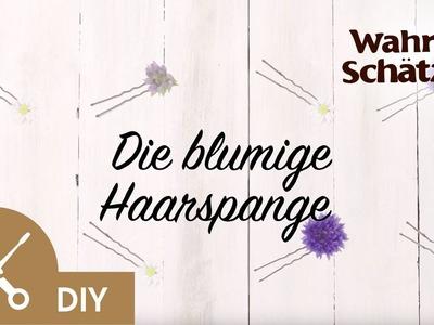 Blumenkranz selber machen Tutorial - Die Haarspange | Garnier
