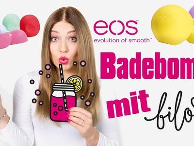 DIY EOS BILOU BADEBOMBE selber machen: LIVE TEST mit Bilou von Bibis Beauty Palace