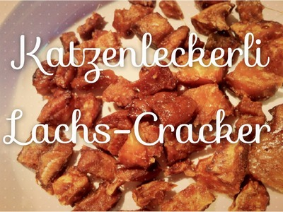 Gesunde Katzenleckerli Rezept: Lachs-Cracker