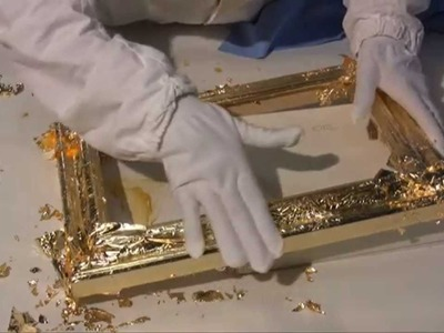 Vergolderkurs: 6 - Schlagmetall