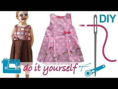 """DIY Kleid nähen für Anfänger – mit nahtfeinem RV und Futter – Zierstoff Schnittmuster """"Hille"""""""