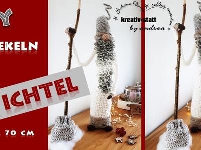 DIY Häkeln - Anleitung Großer Wichtel. Crochet - Pattern Big Witch
