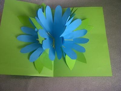 Ideen: Schöne Geschenke zum Muttertag. 3D Pop Up Karten selber basteln