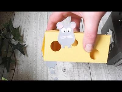 Anleitung Käse Tortenstück mit der Stampin'Up! Thinlits Form Tortenstück