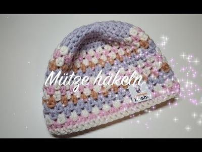 Häkelanleitung Mütze - MyBoshi Mütze Agano häkeln - Häkelmädel