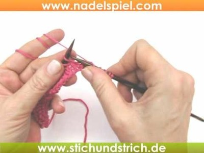 Video-Strickkurs #20 * Maschenprobe