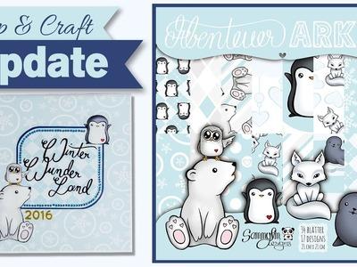 """[Craft & Shop Update] December Daily 2016 + Eigenes Designpapier """"Abenteuer Arktis"""""""