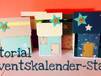 Adventskalender-Stadt *DIY Paperbags* [tutorial | deutsch]