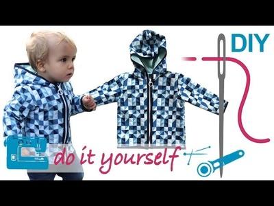 DIY Softshell Jacke mit RV nähen für Anfänger –  Grundkurs teilbaren RV einnähen
