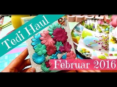 Ostern 2016 | Tedi Haul Video Einkauf Februar 2016 | wunderschöne Dekoration, Papiere