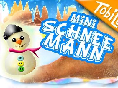 Schneemann basteln Adventskalender basteln  9    Kinderkanal Schneemann DIY - Tobilotta 71