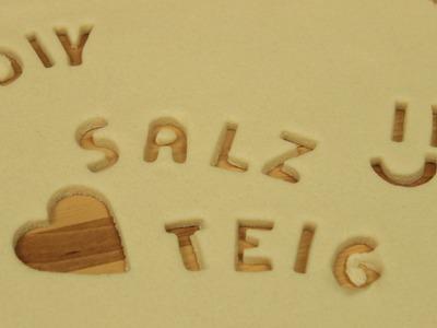 Salzteig selber machen | Salzteig Rezept | Knete selber machen zum Basteln & Spielen