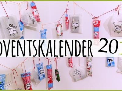 DIY - Adventskalender | Idee, Inhalt, selber machen | ♥ANNA KAISER♥