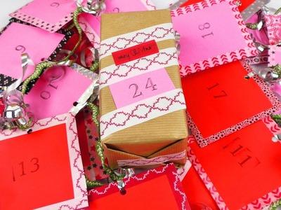 DIY Tee Adventskalender ☕ 24 Tee Überraschungen & Washitape Deko | Vorfreude auf Weihnachten