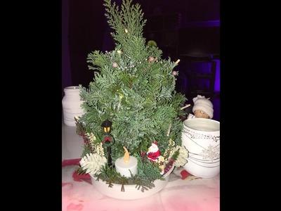 Tannenbaum selbstgemacht. Christmas Tree DIY