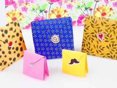 Origami Geschenk Tüten | Super schön & total praktisch | Geburtstags & Weihnachtsgeschenke verpacken