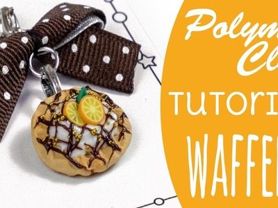 [Polymer Clay Tutorial] Waffeln | Easy Back-To-Basics | DEUTSCH