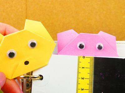 Bärchen Lesezeichen falten | einfach & super süß | Geschenk Idee | Origami