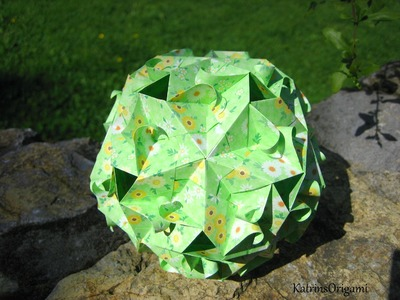 Origami ❀ Gekkin ❀ Kusudama