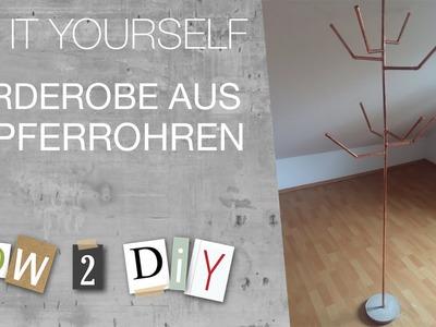 How 2 DIY - Garderobe aus Kupferrohren