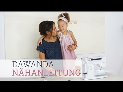 DaWanda Nähanleitung: Kleid nähen