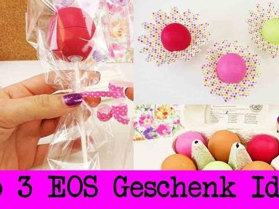 EOS Lipbalm als Geschenk   3 süße Ideen   Tolle Ideen für kreative Geschenke   Freundin