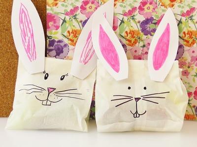 DIY Häschen Geschenkverpackung | für Kinder oder die beste Freundin | einfach, schnell & super süß