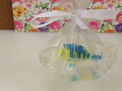 Kreative Seife selber machen | Seife mit Fisch als süße Geschenkidee | Fabius aus Arielle Soap
