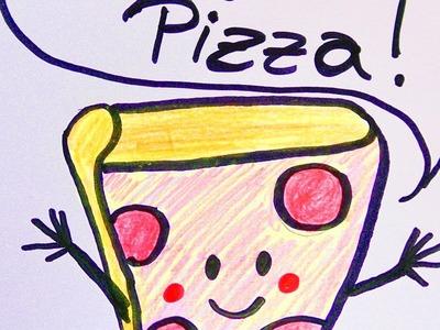Pizza GUTSCHEIN selber machen | Geschenk für die beste Freundin, besten Freund | Einladung gestalten