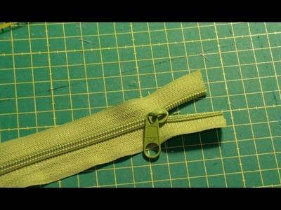 DaIsY´s DIY - Schieber auf endlos Reißverschluss einsetzen