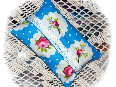Käthes Nähstunde * DIY  Taschentüchertasche. TaTüTa  ganz einfach *  Nähen für Anfänger